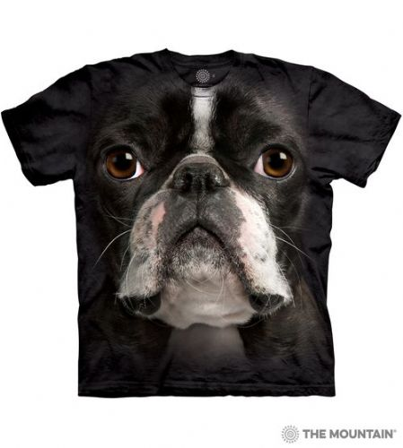 Boston Terrier Face T-shirt | The Mountain®